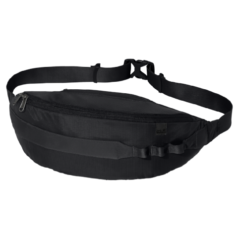 Jack Wolfskin Unisex Read N Sling Belt Bag - Black